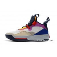 """d3c67a2c8977e6 Air Jordan 33 """"Visible Utility"""" Yellow Pink-Red New Style"""