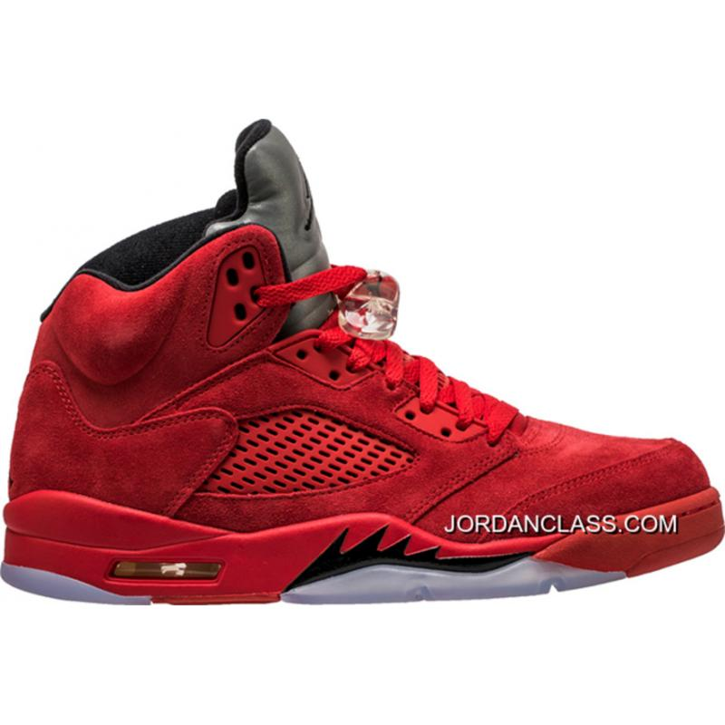 best loved 0f586 60026 New Air Jordan 5 'Red Suede' For Sale