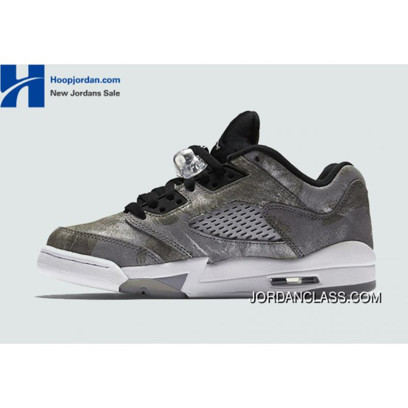 "huge selection of 93d7b 3f42a   All Star"" Air Jordan 5 Low GS Cool Grey Wolf Grey- ..."
