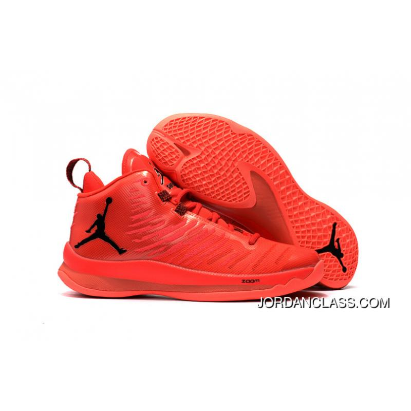 45cedb2b903e ... italy new jordan super.fly 5 x red black mens basketball shoes lastest  2c3e3 c49df