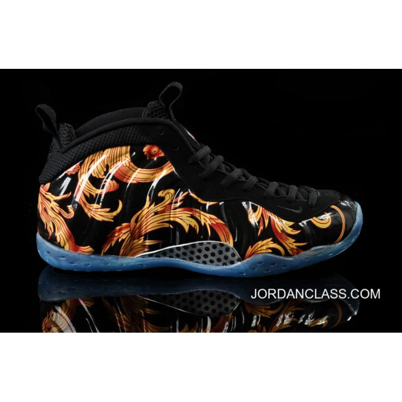 premium selection 93a25 b2318 Nike Air Foamposite One SP Supreme -BlackBlack-Metallic Gold 2014 Release  New ...