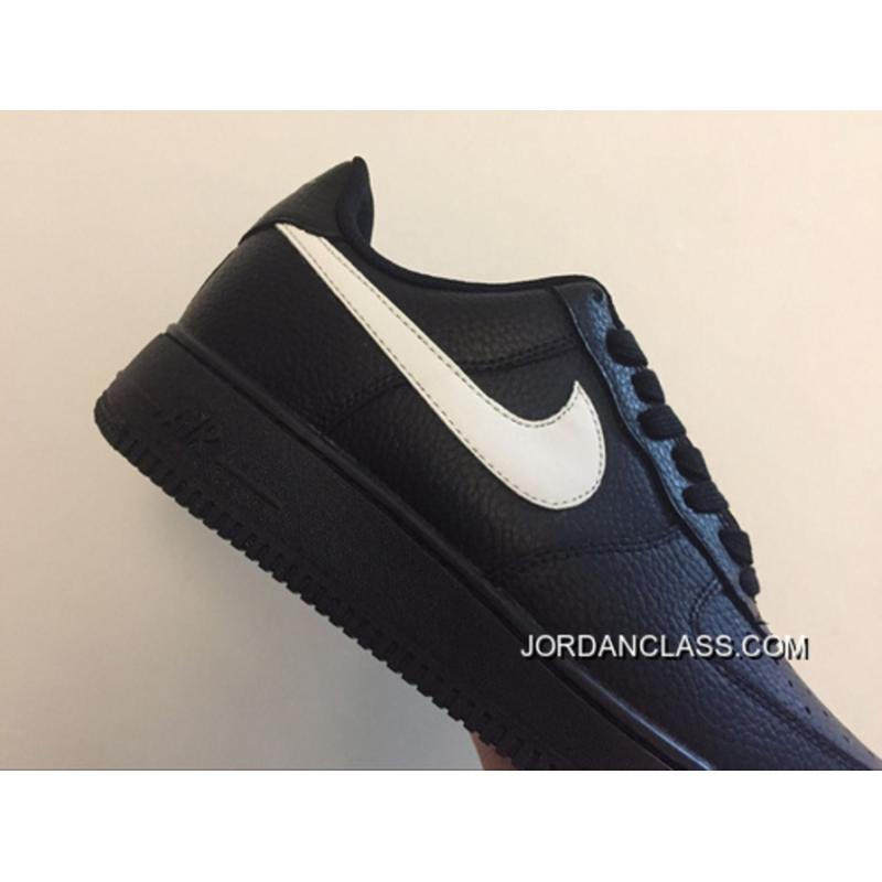 online store c6ae7 cadb7 New Release Nike Air Force 1 07 Lv8 Bass Aa4083-001 Black And White ...
