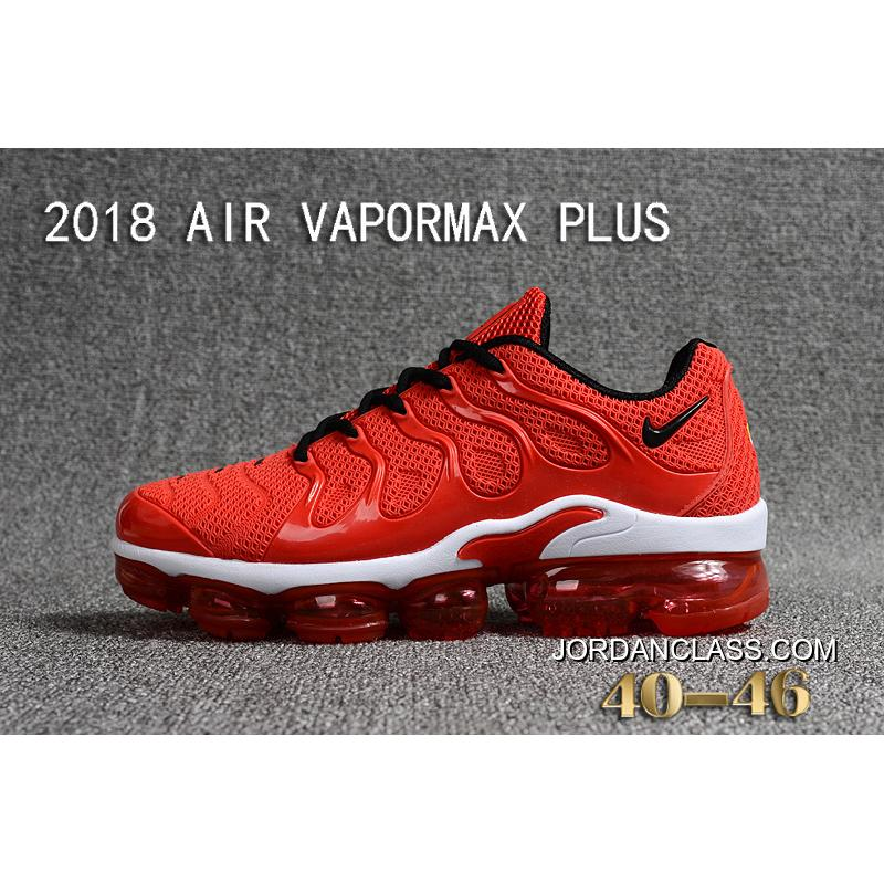 5fdf8277c0c 2018 NIKE AIR VAPORMAX PLUS Plastic Nanotechnology Technology Of New Style  Environmental Protection Tasteless Full Zoom ...