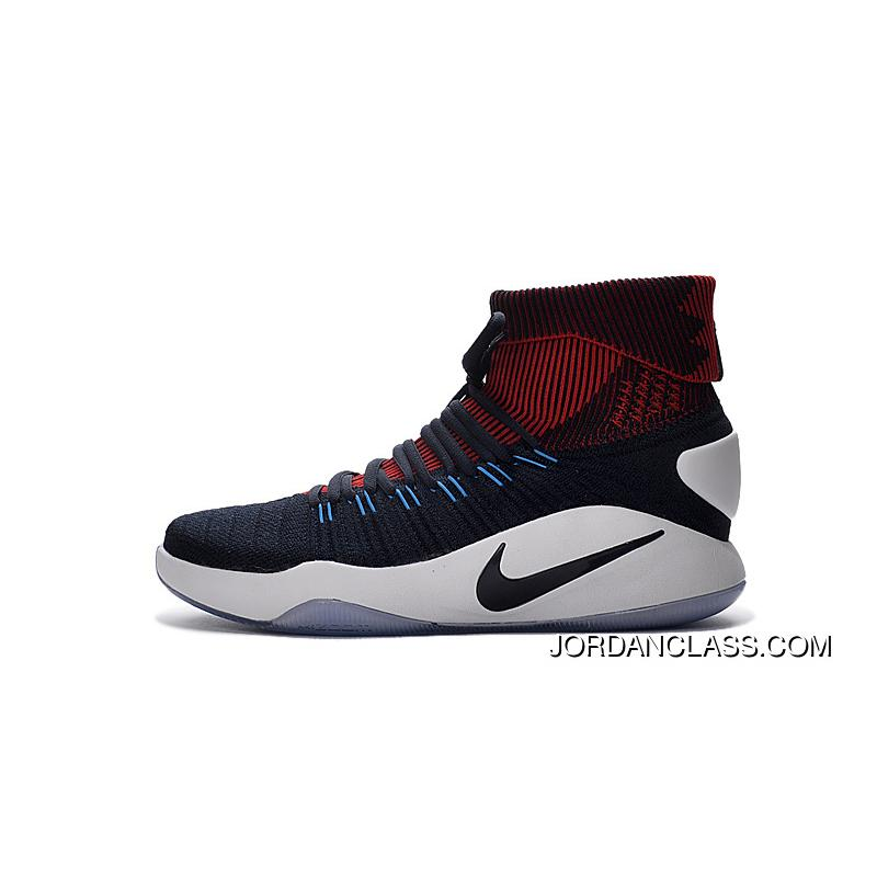 "wholesale dealer aff8f 4e16c Nike Hyperdunk 2016 Flyknit ""USA Away"" Cheap To Buy"