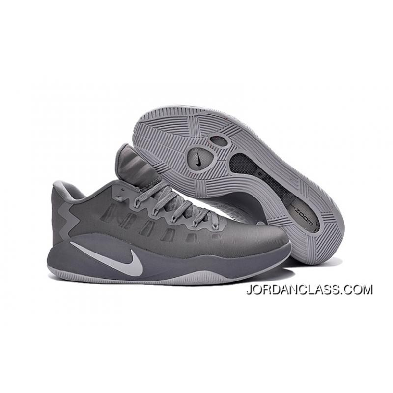 997ee45a0bbe Nike Hyperdunk 2016 Low Cool Grey Men s Basketball Shoes New Style ...