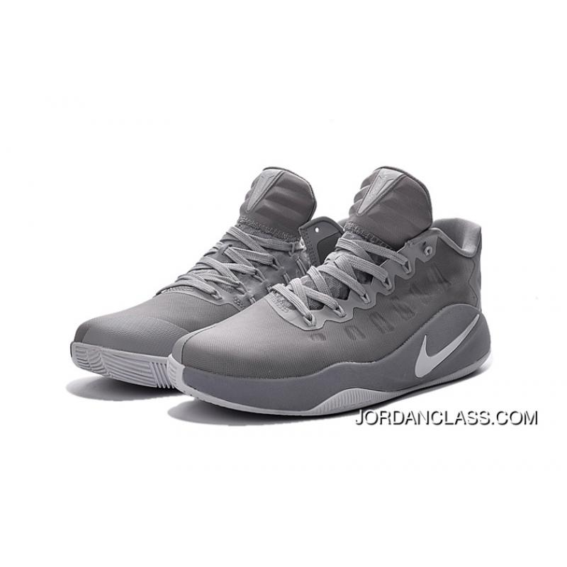 f578c06e1174 ... best price nike hyperdunk 2016 low cool grey mens basketball shoes new  style f44b3 df05b