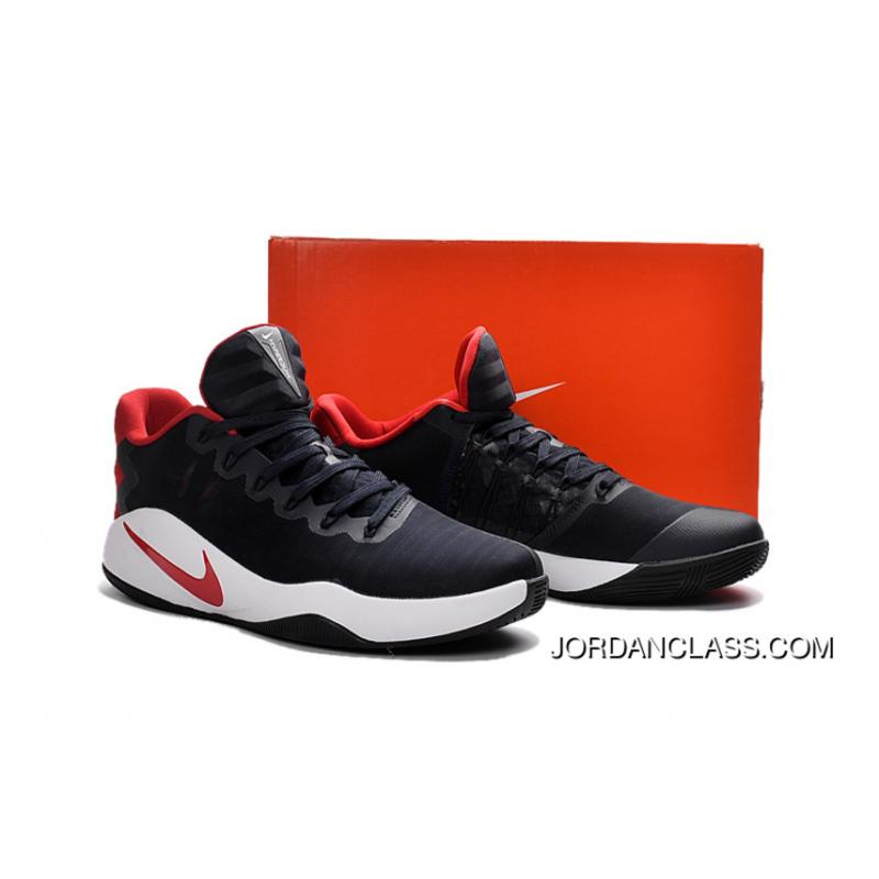 buy online b60d2 95529 ... free shipping nike hyperdunk 2016 low usa black red white mens  basketball shoes free shipping a1576
