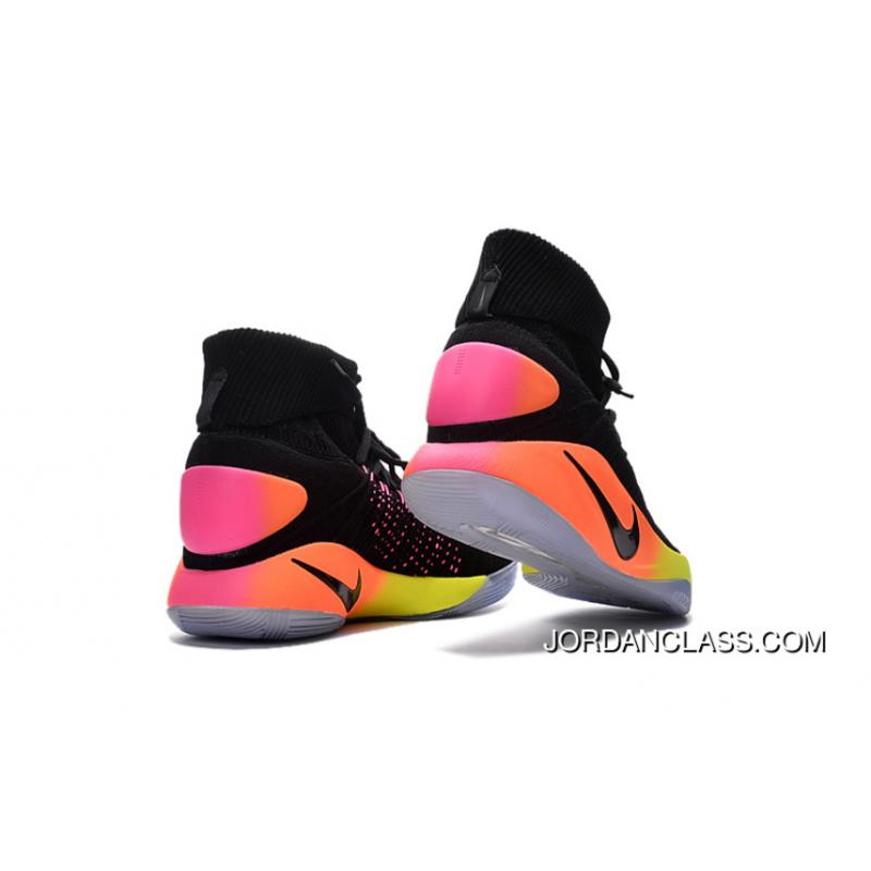 c64476ec64ff ... switzerland nike hyperdunk 2016 unlimited black black pink blast volt  total orange best fe5c2 7287c ...