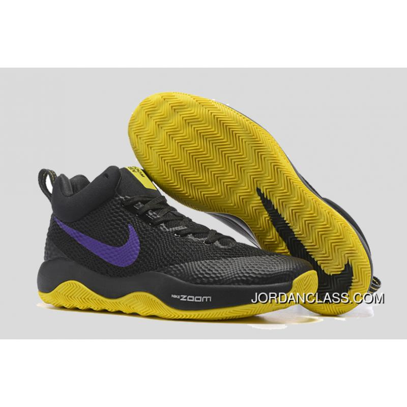 10b09df4271 ... usa nike hyperrev black purple yellow mens basketball shoes lastest  58170 a46b9