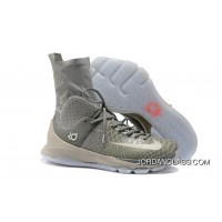 low priced 628c0 1132f 2016 Nike KD 8 Elite Wolf Grey Cool Grey-White Authentic