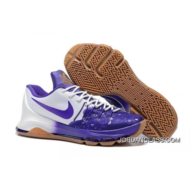 "84888256be5 Nike KD 8 ""Peanut Butter   Jelly"" Men s Basketball Shoes Authentic ..."