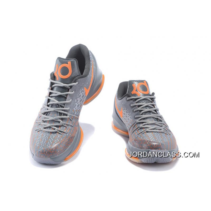 separation shoes 3cf56 37c98 ... italy nike kd 8 wolf grey orange mens baketball shoes for sale 6d1d3  4061e ...
