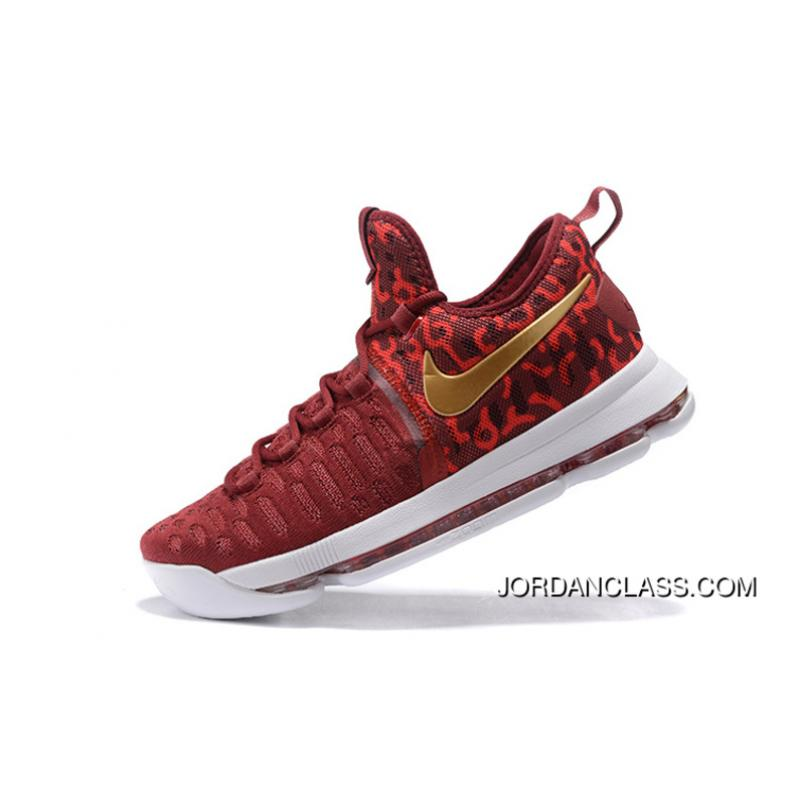 c120291fb3bf ... coupon code 2016 chinese red nike kd 9 red gold white new release 7ddc0  a501f