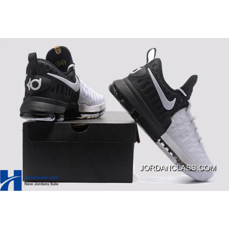 8800c848773b ... get bhm nike kd 9 black metallic gold white mens basketball shoes new  4ebea 084c8