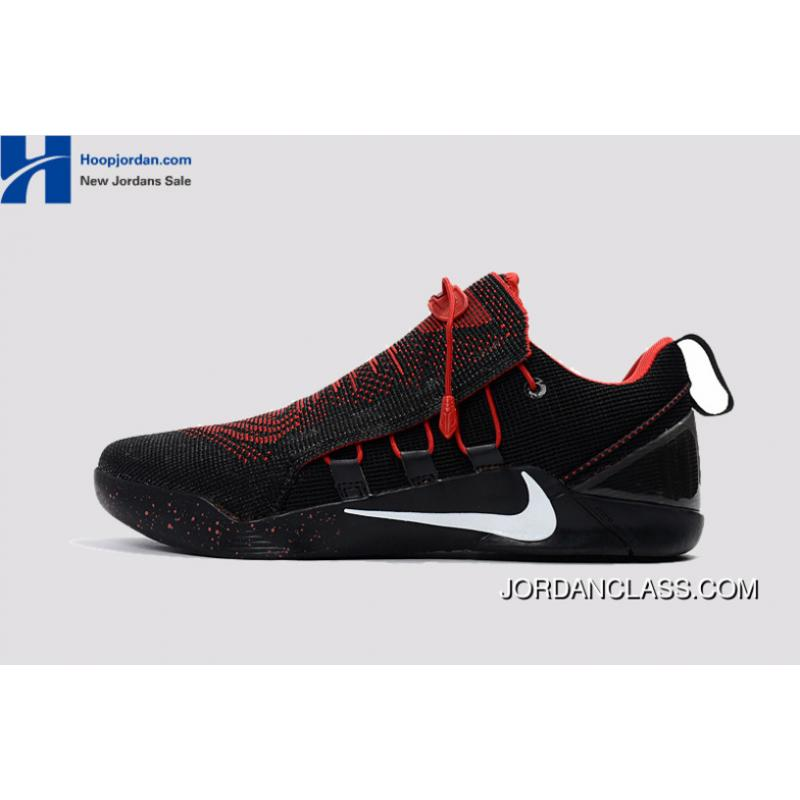 638d86a0e44a Nike Kobe A.D. NXT Black Red White Men s Basketball Shoes Authentic ...