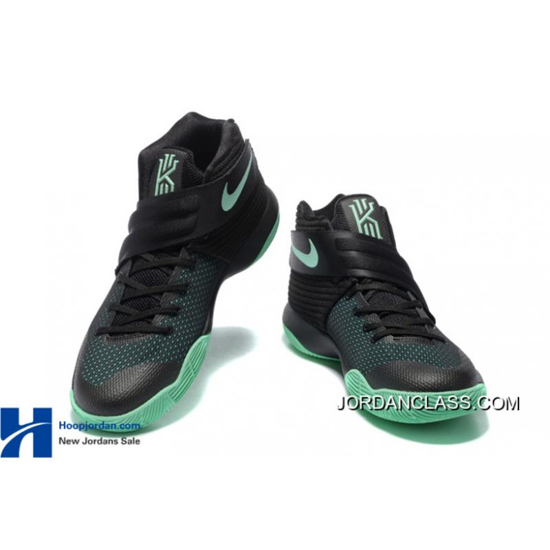 "online store d4249 a4dad ""Kyrie-Oke"" Nike Kyrie 2 Black Green Glow For Sale  "" ..."