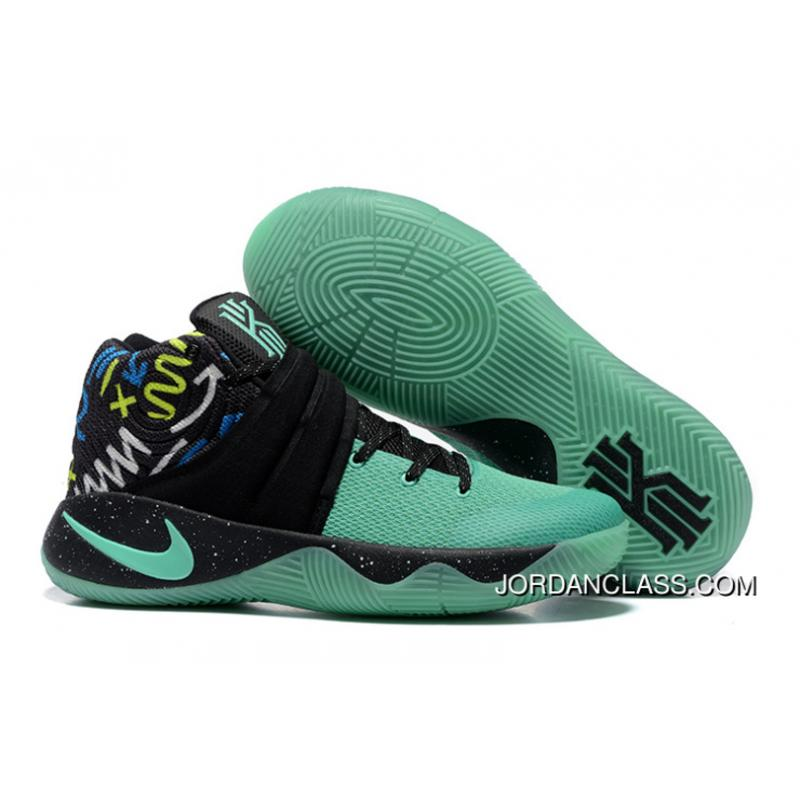 f3d16f9b613 Nike Kyrie 2 Mint Green Black Men s Basketball Shoes Copuon Code ...