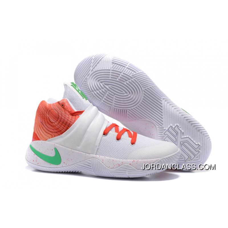 3af2c2795e11e Nike Kyrie 2 White Orange Green Men's Basketball Shoes Online, Price ...