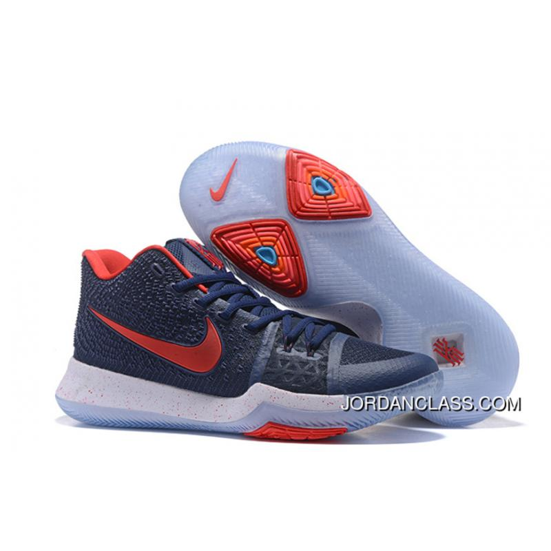 8a27b3718a3  White Toe  Nike Kyrie 3 PE Black Grey -White Red Lastest ·   ...