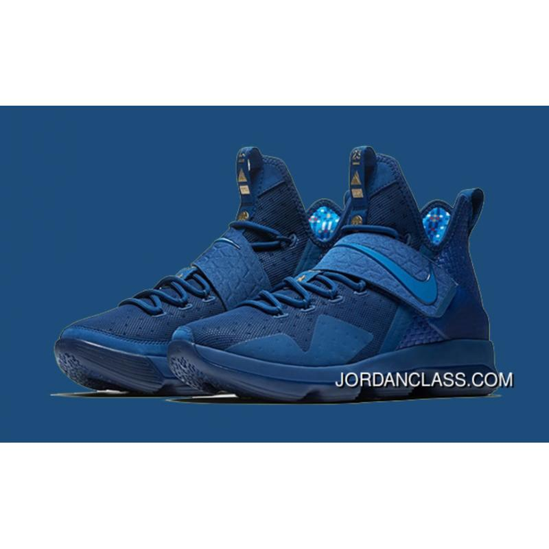 2e069d7da133 Newest Sale! Nike LeBron 14 Agimat Coastal Blue White-Star Blue Free ...