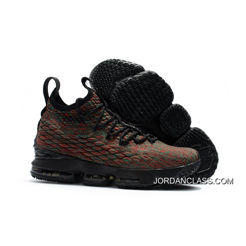 "acb2956f66bf4 Nike LeBron 15 ""BHM"" Black Multi-Color New Year Deals ..."