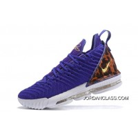 "Tax Free Nike LeBron 16 ""King Court Purple"" Court Purple Metallic Gold  AO2588 14efb632e"