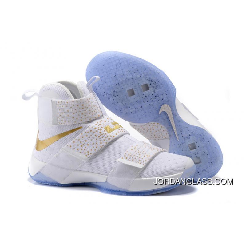 timeless design f89cb 332ad Nike Zoom LeBron Soldier 10 Gold Medal 2016 Release Lastest ...
