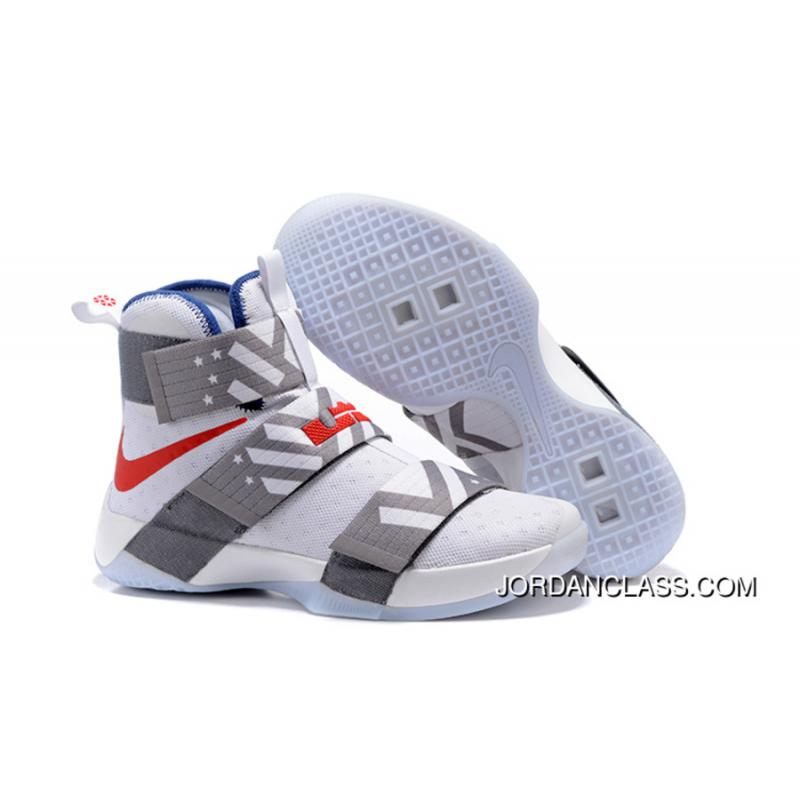new product cf97f 478f3 Nike Zoom LeBron Soldier 10 USA Dream Team 12 Discount ...