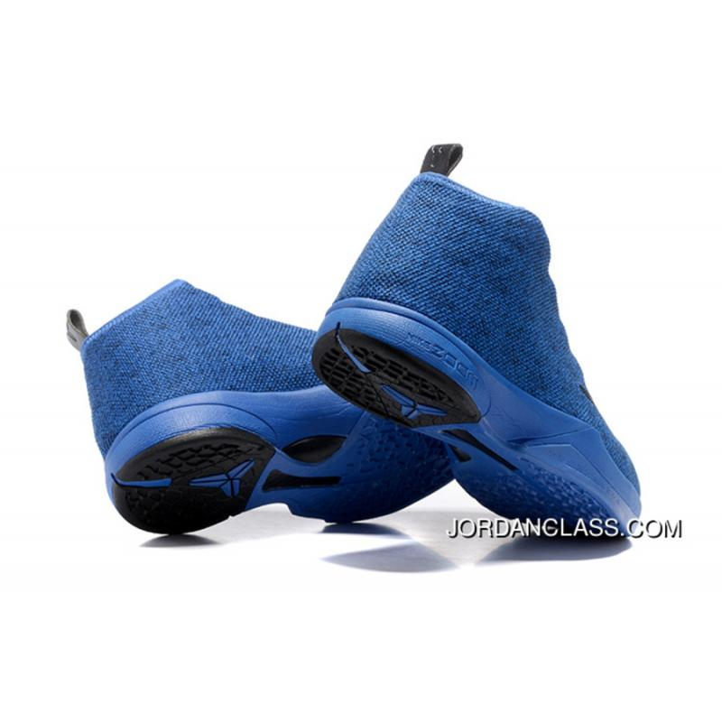 the best attitude 454a9 a1497 ... Nike Zoom Kobe Icon Hyper Cobalt Black For Sale ...