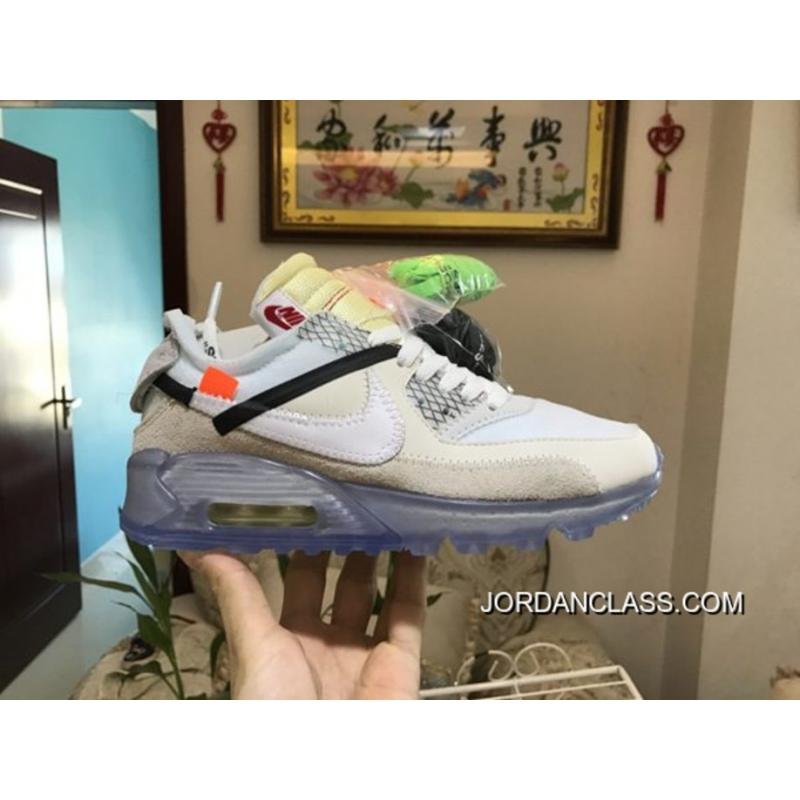 985c226a164 Men OFF WHITE X NikeLab Air Max 90 SKU 138840-213 New Release ...