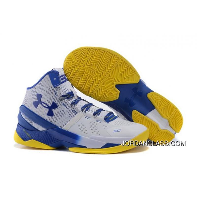 get cheap bd38c 9d02b  Dub Nation  Under Armour Curry 2 Blue White – Yellow Authentic    ...