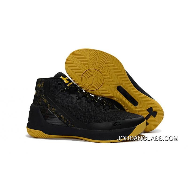 01a7af7407c9 Cheap Under Armour Curry 3 Black Taxi 2016 Discount ...