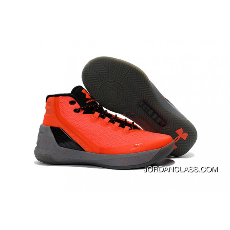 d78e66f4 Cheap Under Armour Curry 3 Orange Black Grey Free Shipping, Price ...