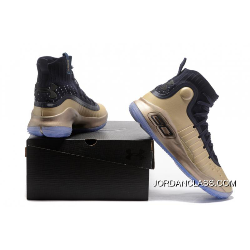 65bf4e3b28b ... closeout under armour curry 4 basketball shoes gold black free shipping  e25fc 55471