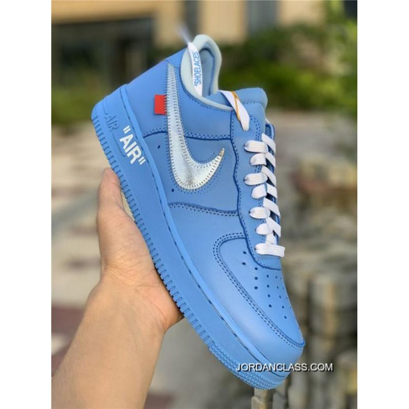 2020 Cheap Price Women OFF WHITE X Nike Air Force 1 Low
