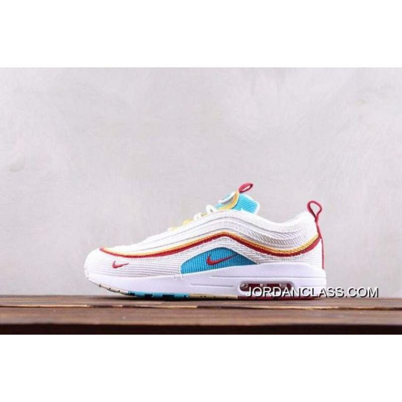 Women Sean Wotherspoon Nike Air Max 97 Hybrid SKU:150728 289 Top Deals