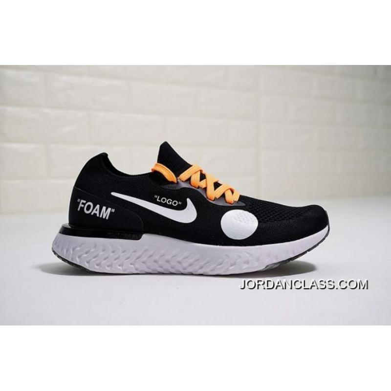 0ab3a6767fbd4 Women OFF-WHITE X Nike Epic React Flyknit Sneaker SKU 151680-273 Where ...