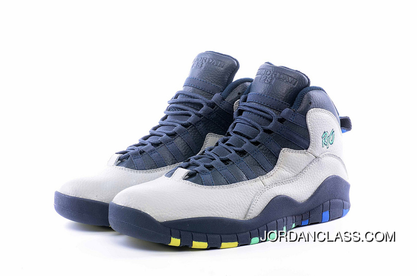 a604b8b26dcca0 2016  Rio  Air Jordan 10 Wolf Grey Photo Blue-Obsidian-Green Glow ...