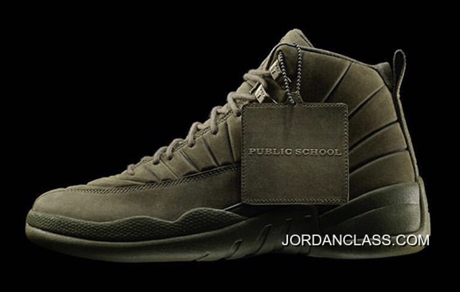 d2f97641190 Air Jordan 12 PSNY Olive Release New Style, Price: $96.35 - 2018 ...