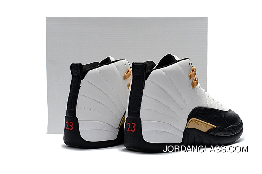 check out 3c1d3 23aa4 Air Jordan 12 CNY White Black-Varsity Red Release Cheap To Buy