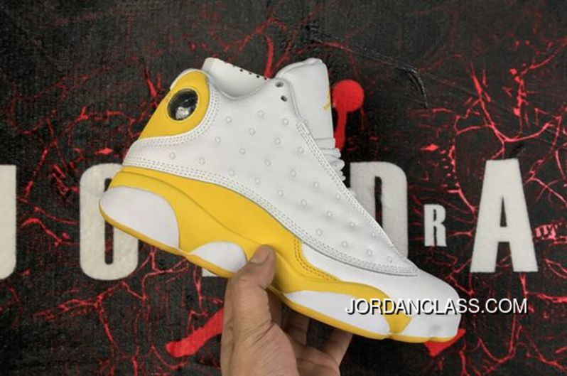 1826bc99a69198 Fred Jones Indiana  Pacers  Air Jordan 13 PE White Yellow Top Deals ...