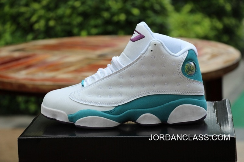 "f8e2e83544b318 Air Jordan 13 ""CP3"" PE -White  Blue 2015 Release Cheap To Buy"