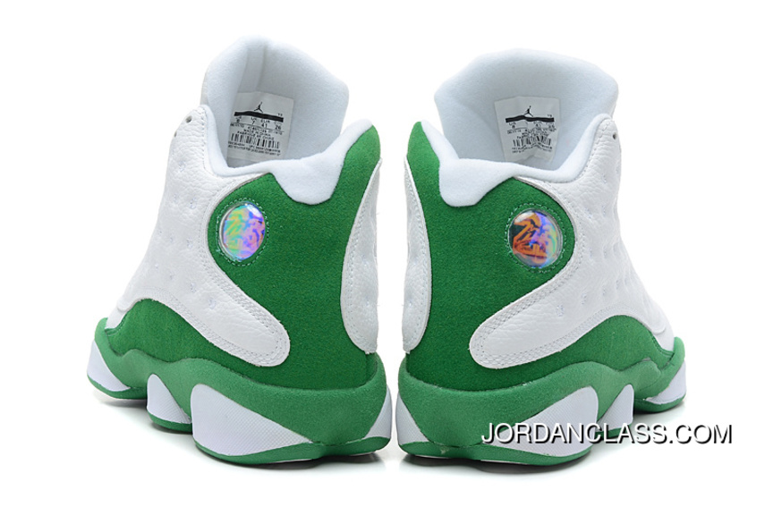 Air Jorda13 Ray Allen PE White Green For Sale 47dc5609e