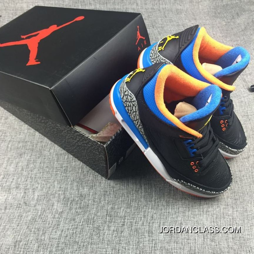 huge selection of cf300 c6a50 2016  OKC  Air Jordan 3 Russell Westbrook PE New Style
