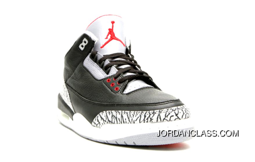 free shipping b36bb 9f564 2018  Black Cement  Air Jordan 3 Retro OG 854262-001 Free Shipping