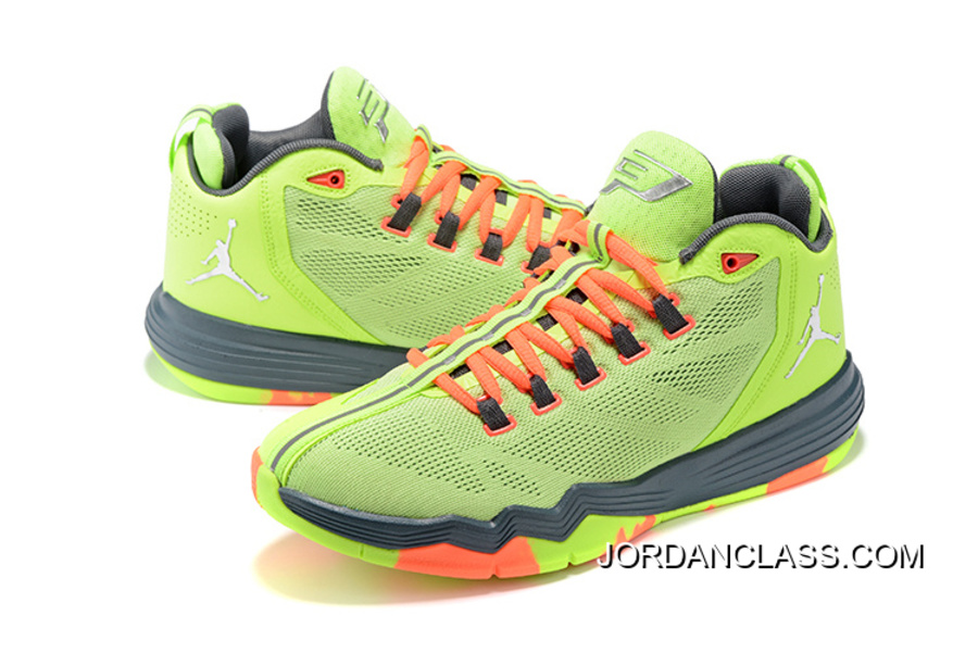 b059f11b7a24c0 New Air Jordan CP3.IX AE Ghost Green Discount