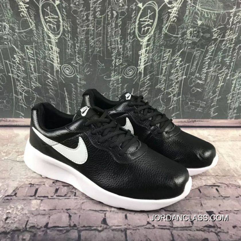 premium selection c313f 2505f Online 812654 Pig Leather Nike TANJUN Sport Casual Light Running Shoes 36-44