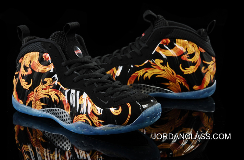 on sale a0922 a2f1c Nike Air Foamposite One SP Supreme -Black Black-Metallic Gold 2014 Release  New