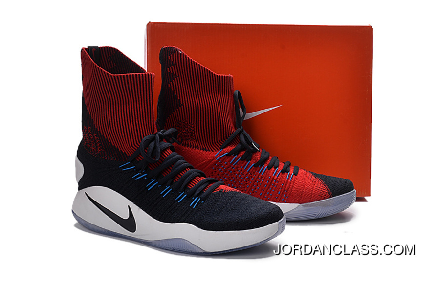 "wholesale dealer 65b9b 20c55 Nike Hyperdunk 2016 Flyknit ""USA Away"" Cheap To Buy"
