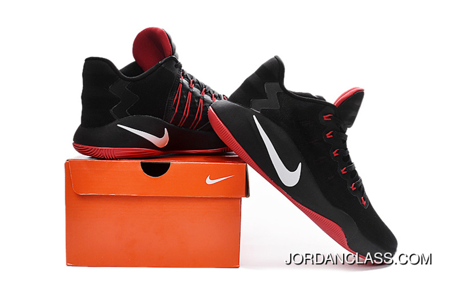 6146c8af6887 ... ebay nike hyperdunk 2016 low black red white mens basketball shoes for  sale 2c6c4 7cd83